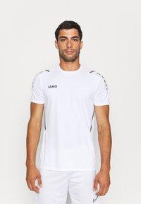 JAKO - TRIKOT CHALLENGE - T-shirt med print - weiß/anthra light - 0