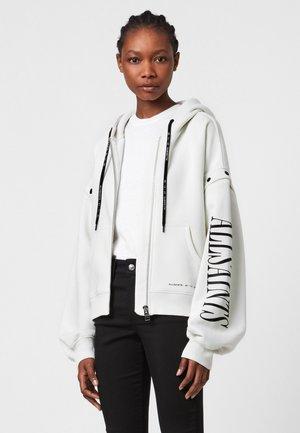 AMPHIA CHLO - Zip-up sweatshirt - white