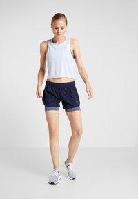 adidas Performance - TANK COOLER - Camiseta de deporte - blue - 1