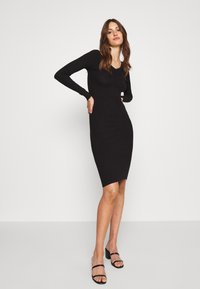 Even&Odd Tall - Shift dress - black - 0