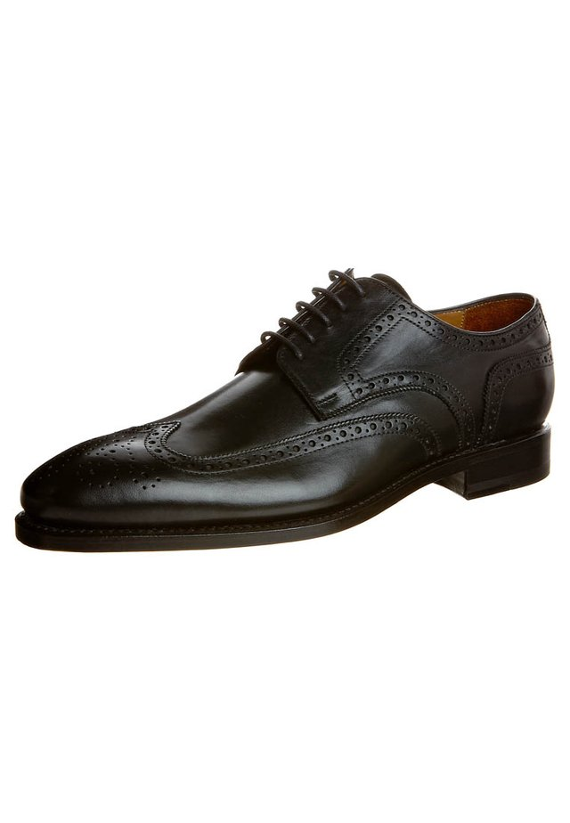 FERRERA - Smart lace-ups - black