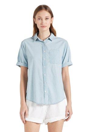 GLORIA - Button-down blouse - hellblau gewaschen