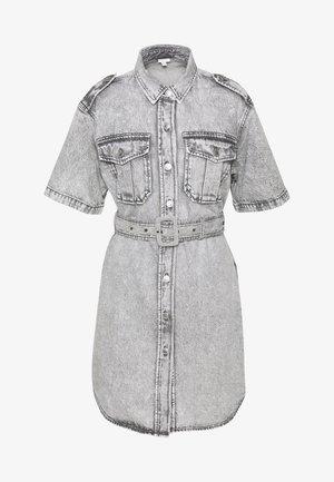 DRESS - Sukienka jeansowa - grey