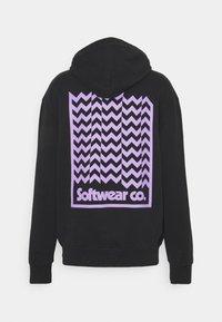 WAWWA - UNISEX COOPER HOODY - Sweatshirt - black - 1