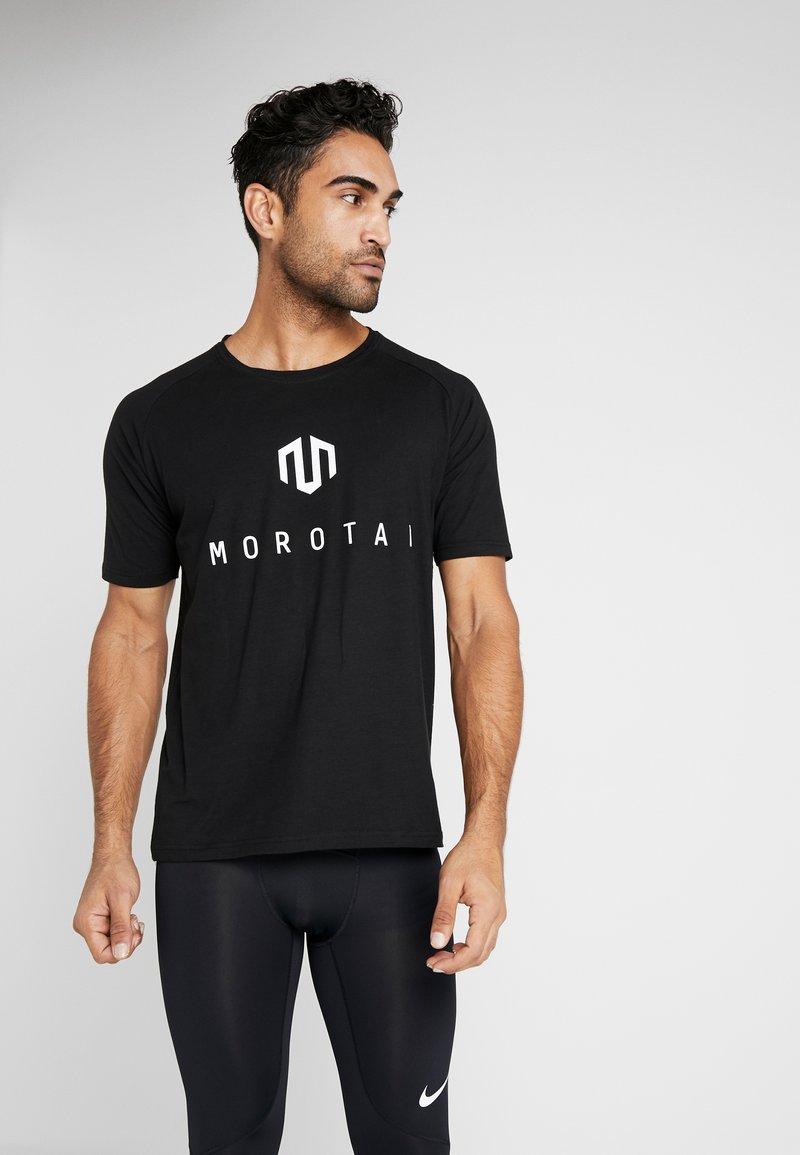 MOROTAI - Print T-shirt - black
