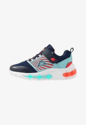 HIGHLIGHT - Zapatillas de entrenamiento - navy/coral