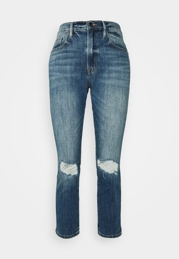 LE PIXIE BEAU - Straight leg jeans - dark blue