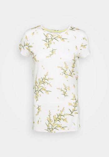 IRENNEE - T-shirt imprimé - white