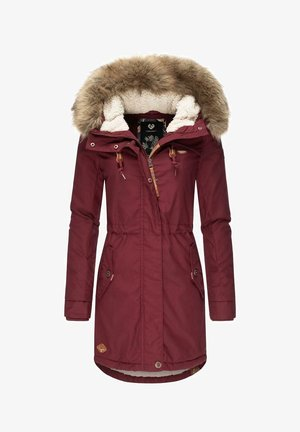 TAWNY - Winter coat - wine red