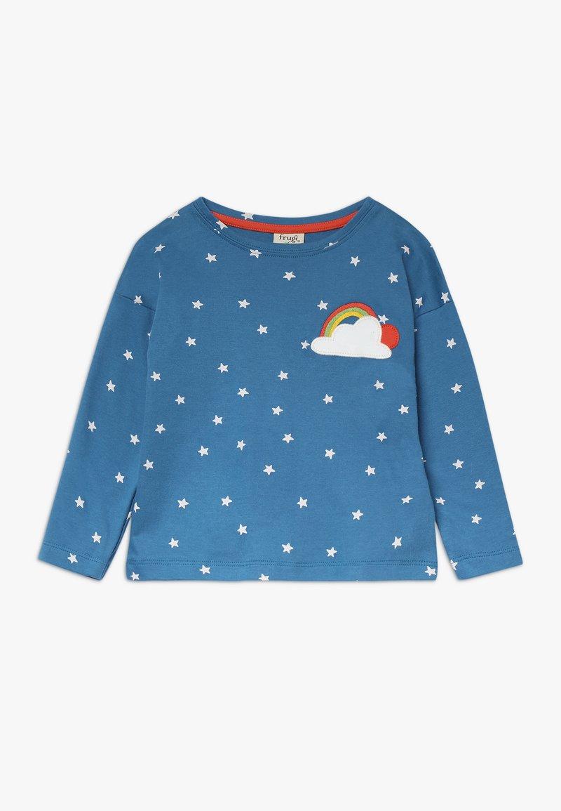 Frugi - BETHANY BOXY - Langærmede T-shirts - steely blue