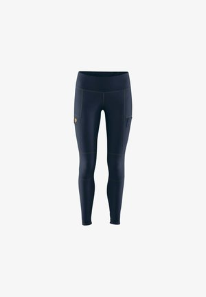 Leggings - Trousers - blau
