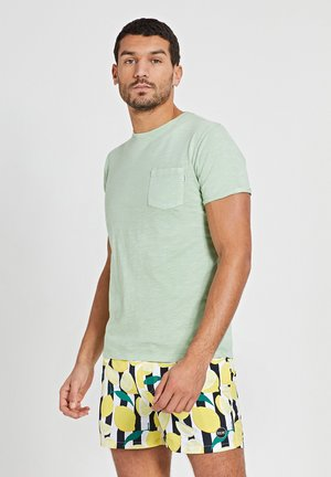 Print T-shirt - miami pistache