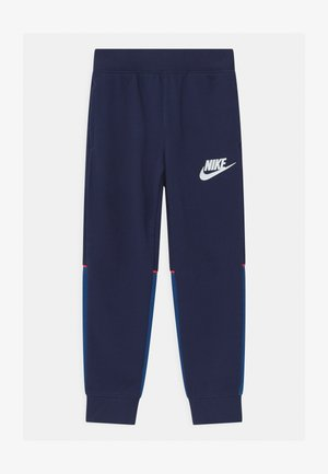 LOGO GRAPHIC - Tracksuit bottoms - blue void