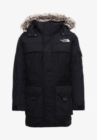 MC MURDO - Down coat - black/high rise grey