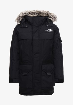 MC MURDO - Down coat - black/high rise grey