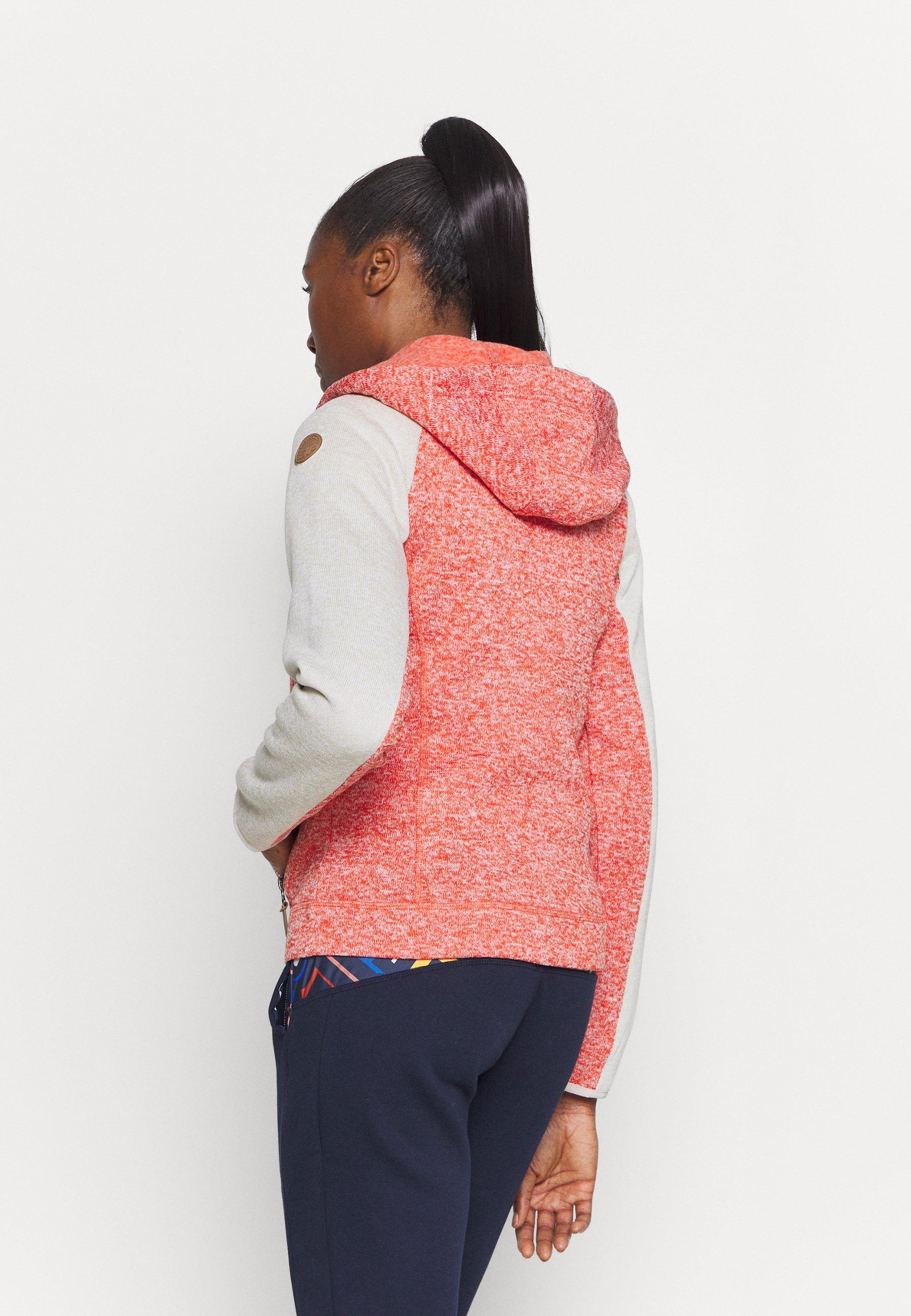 Icepeak AUBURN - Fleece jacket - coral red zP3dT