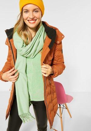 MIT MODERNER STEPPUNG - Winter jacket - braun