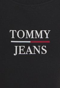 Tommy Jeans - LOGO CREW - Sweatshirt - black - 5