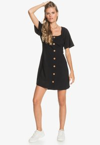 Roxy - ALL EYES ON LOVE - Day dress - anthracite - 1