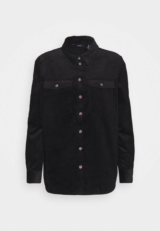 VMEFFY - Button-down blouse - black