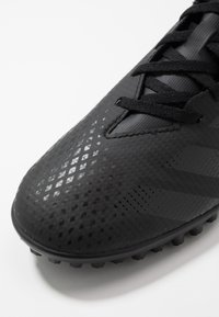 adidas Performance - PREDATOR - Astro turf trainers - core black/dough solid grey - 5