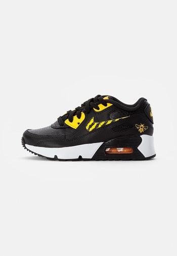 NIKE AIR MAX  - Sneakers laag - black/opti yellow-univ gold-citron