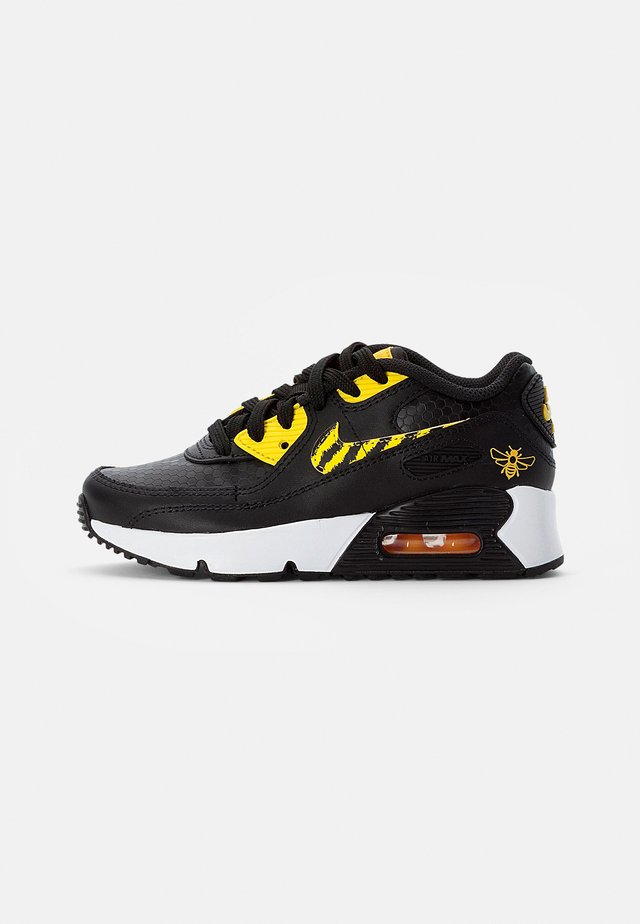 NIKE AIR MAX  - Sneakers laag - black/opti yellow-univ gold-citron