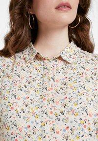 Envii - ENMOORE DRESS - Skjortekjole - beige/multi-coloured - 4