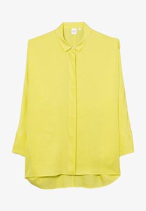 Overhemdblouse - neon gelb