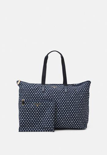 JET SET TRAVEL PACKABLE TOTE SET - Bolso shopping - navy