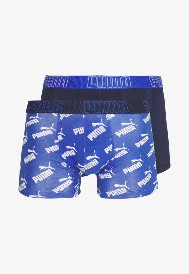 BIG LOGO BOXER 2 PACK - Boxerky - blue combo
