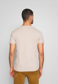 Abercrombie & Fitch - ICON VEE COLOR MULTIPACK 3 PACK - Camiseta básica - brown/green/burg - 2