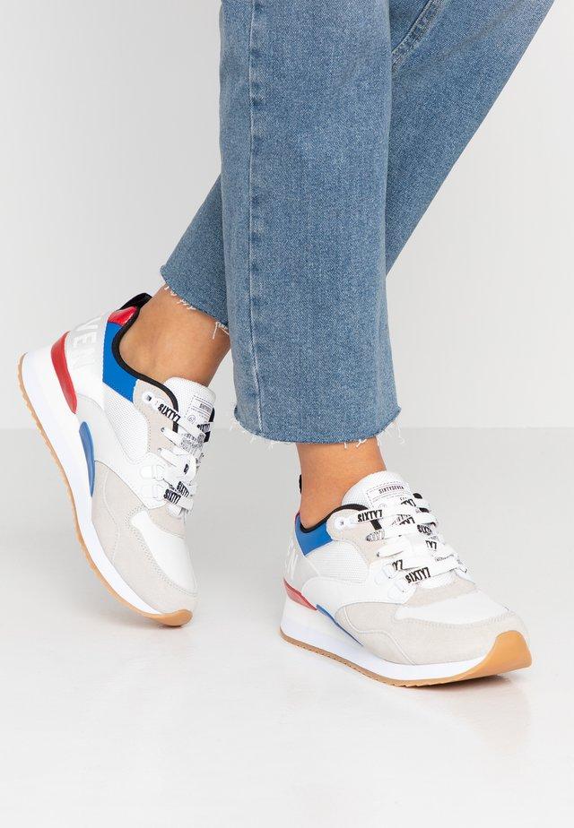 LEON - Trainers - white/cobalt