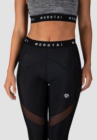 MOROTAI - SPORT MESH PERFORMANCE  - Leggings - schwarz - 3