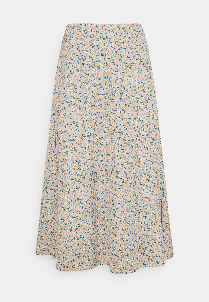 YAS - YASKAYDEL - Áčková sukně - cornflower blue