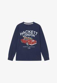 Hackett London - SURF CAR - Långärmad tröja - navy - 2