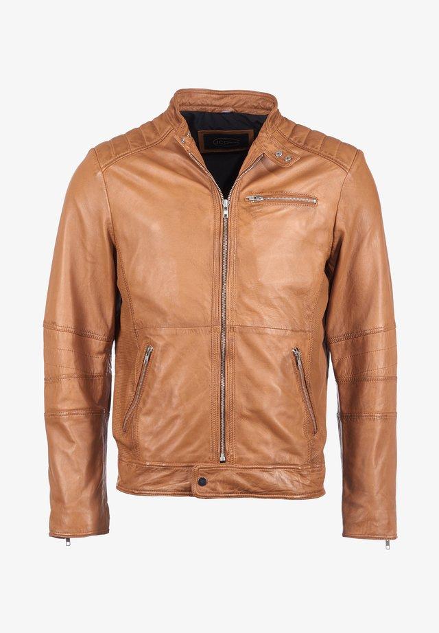 MCL-23 - Leather jacket - cognac