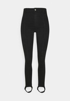 STIRRUP  - Slim fit jeans - black