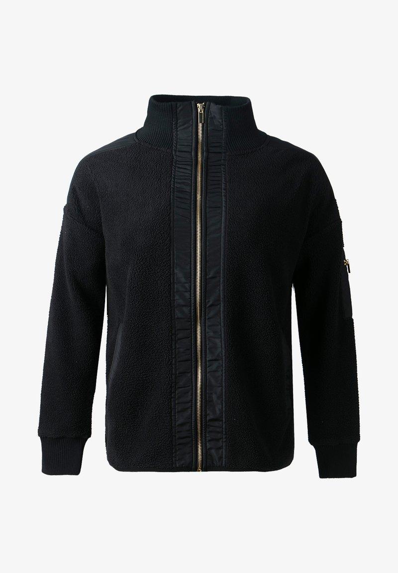 Athlecia - Fleece jacket - black