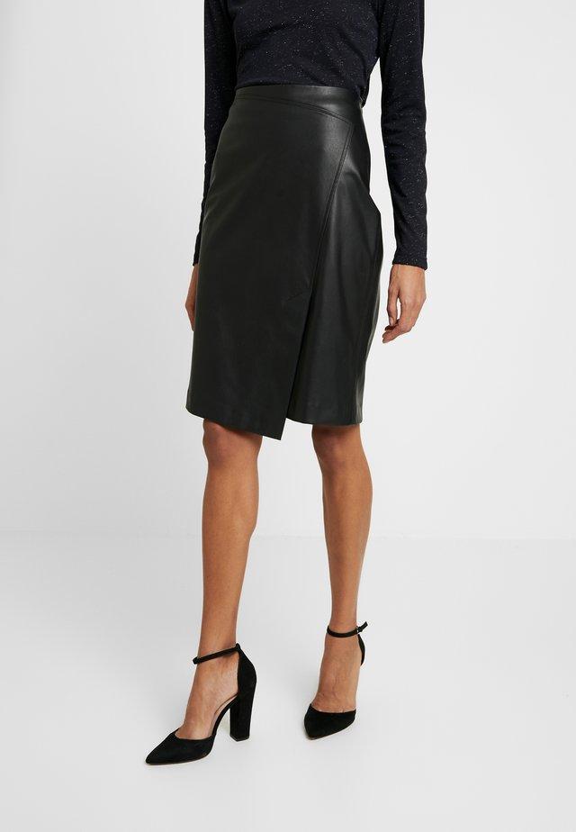 ONIKA - Pencil skirt - black