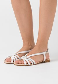 Anna Field - LEATHER - Sandals - white - 0