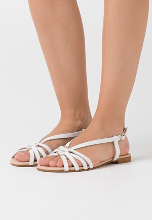 LEATHER - Sandalias - white
