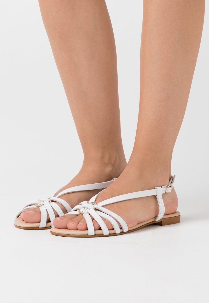 Anna Field - LEATHER - Sandals - white