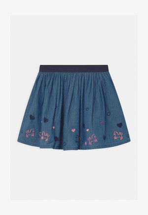 KID - Mini skirt - dark blue denim