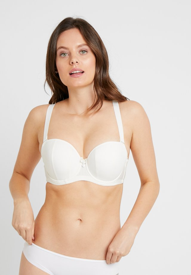 LUXE STRAPLESS MULTIWAY BRA - Stropløse & variable BH'er - ivory