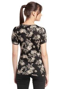 Vive Maria - Print T-shirt - schwarz allover - 1