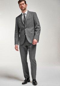 Next - Suit jacket - mottled grey - 0