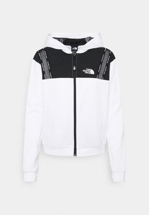 FULL ZIP - Lett jakke - white