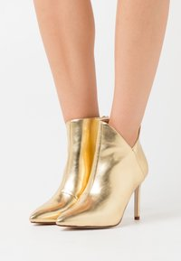 BEBO - DIANNE - High heeled ankle boots - gold - 0
