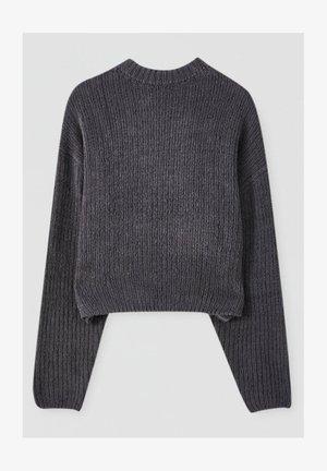 Maglione - mottled grey